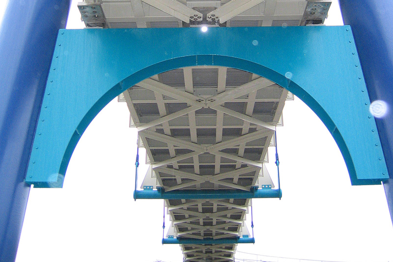 Composite bridge structures