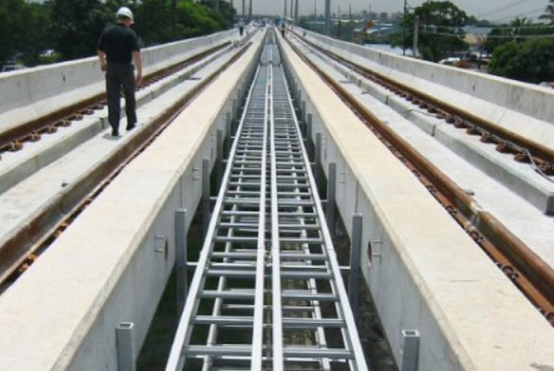Composite bridge installation