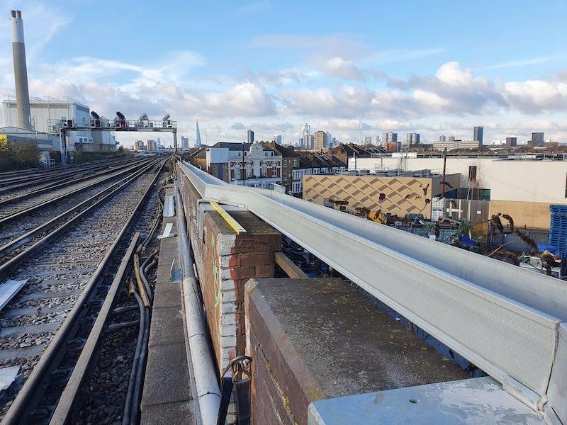 ARCOsystem installation London Bridge Thameslink